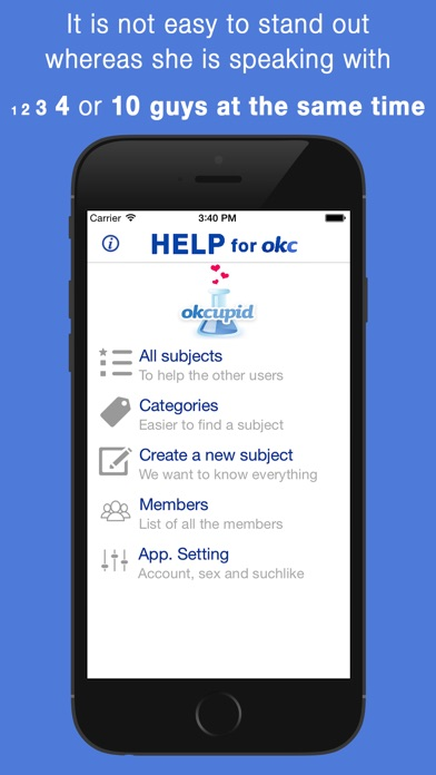 Help for OkCupid App Report on Mobile Action - App Store
