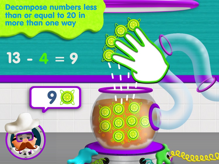 Tiggly Chef Subtraction: 1st Grade Math Game screenshot-3