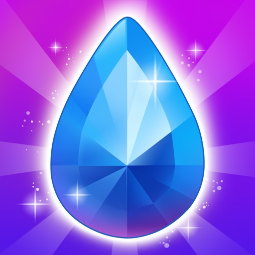 Diamond Splash - Match Up Color Geometry Gems