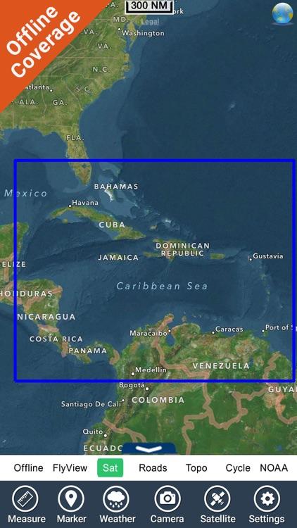 Bahamas and Caribbean HD chart screenshot-4