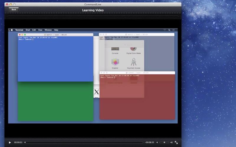 CommandLine screenshot 2
