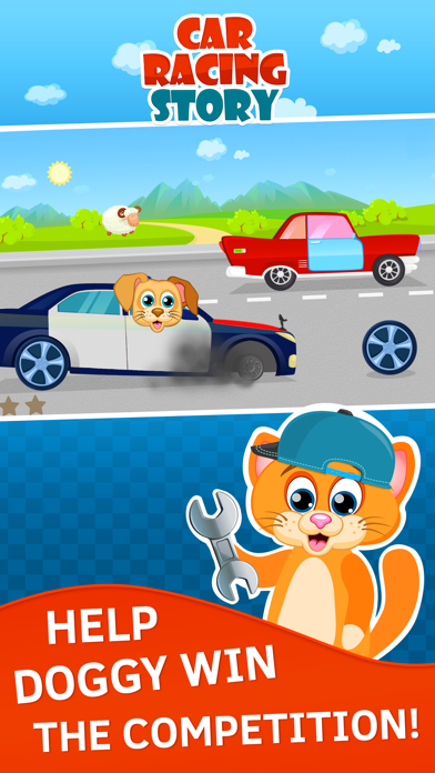 Car Racing for Toddlers and Kids. Premium screenshot two