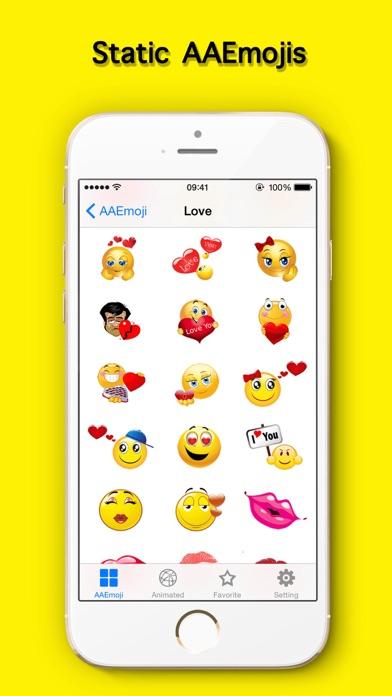 AA Emoji Keyboard - Animated Smiley Me Adult Icons-1
