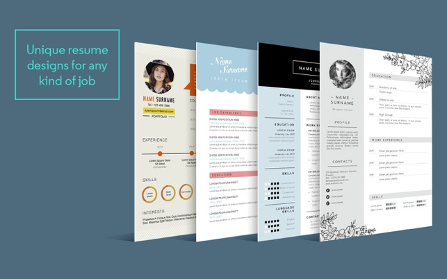 Resume cv template for pages on the mac app store resume cv template for pages on the mac app store yelopaper Images