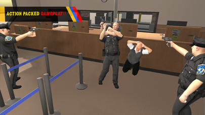 Bank Robbery Escape Simulator 2016 - Crime Scene