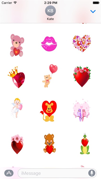 I Love You Sticker Pack screenshot-1
