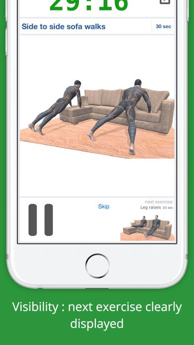 Home Sofa Workout Challenge PRO - Lose Weight screenshot three
