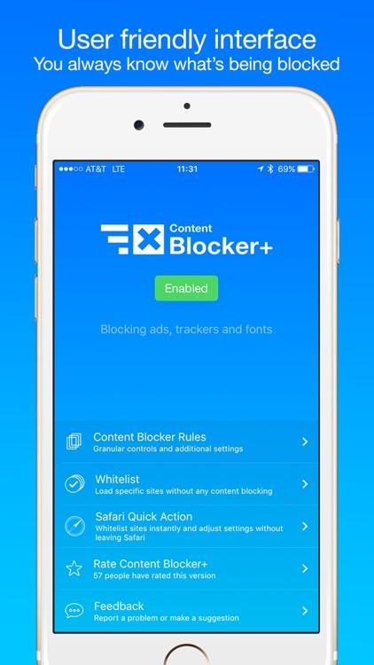 Content Blocker+
