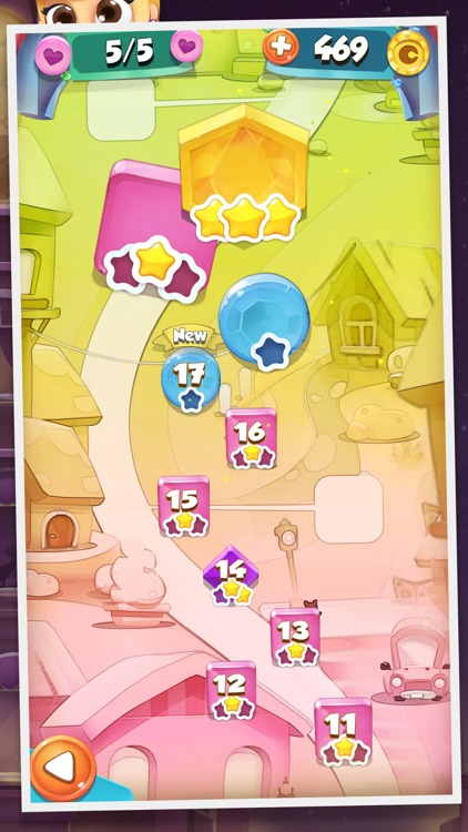 Jewels and Gems Match 3 Game: Crazy Diamond Rush and Color Puzzle Adventure screenshot-3