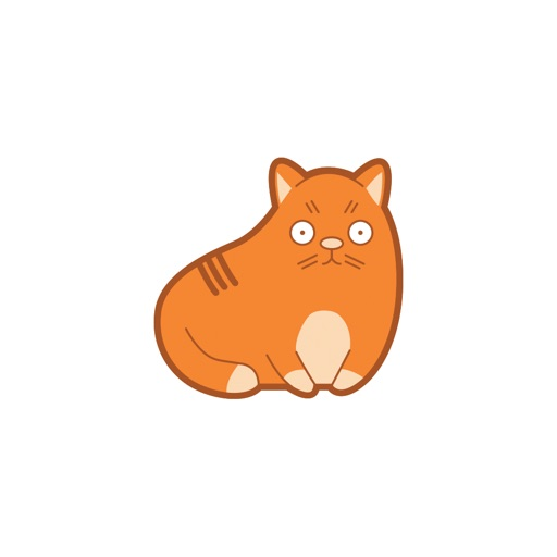 AWW Cat Stickers for iMessage