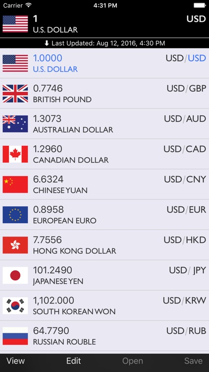Real-time Currencies