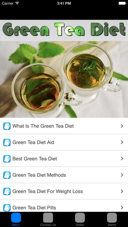 Green Tea Weight Loss & Green Tea Diet
