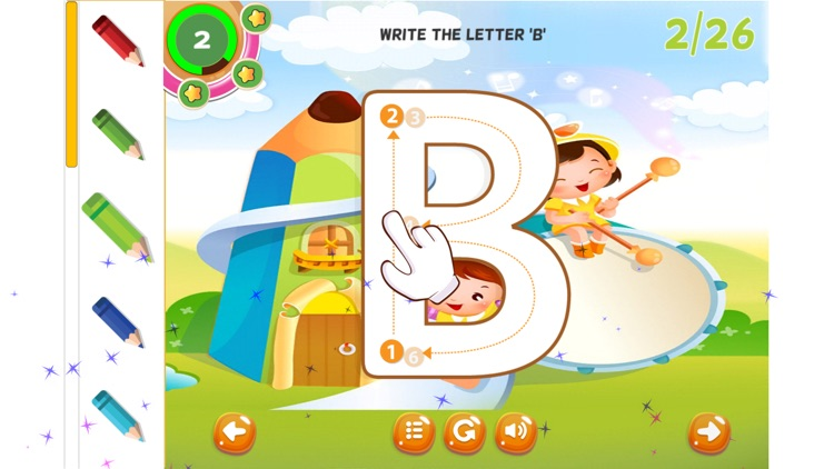 Tracing ABC Letters Handwriting Practice Preschool