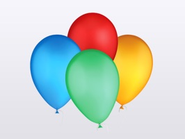 Enjoy this beautiful set of realistic balloon stickers for you to use in your iMessages