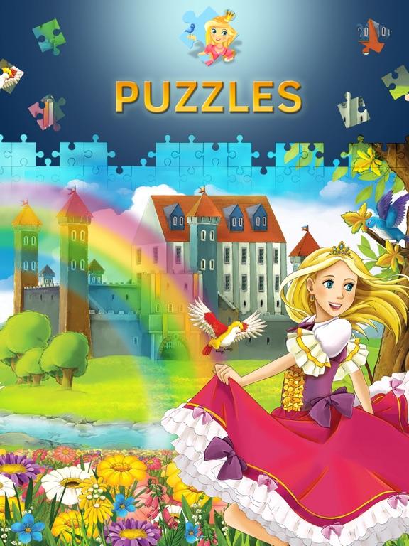 Пазлы принцессы. Игры для девочек. Премиум для iPad
