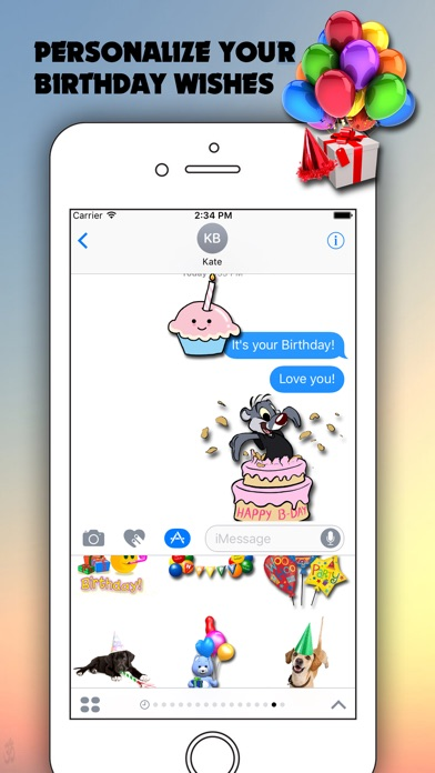 Birthday for iMessageのスクリーンショット2
