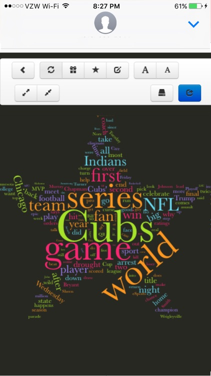 Word Cloud Sports
