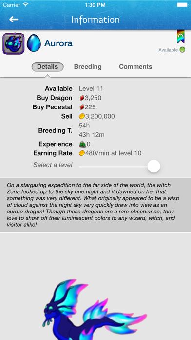 DragonBreed for DragonVale Screenshot on iOS