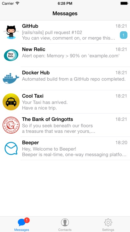 Beeper - Push Notifications by Azati Corporation