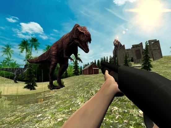 Дино Охота: Джунгли Снайпер Стрелялки RPG на iPad