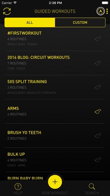 Atlas Workout Tracker screenshot-4
