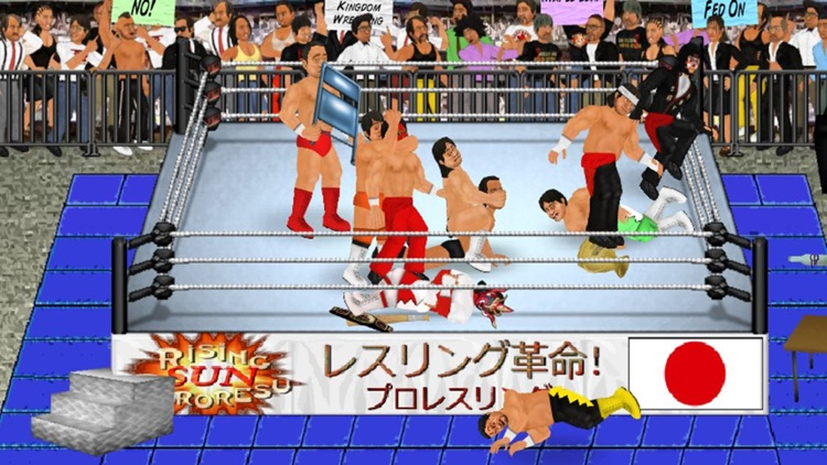 Wrestling Revolution screenshot-4