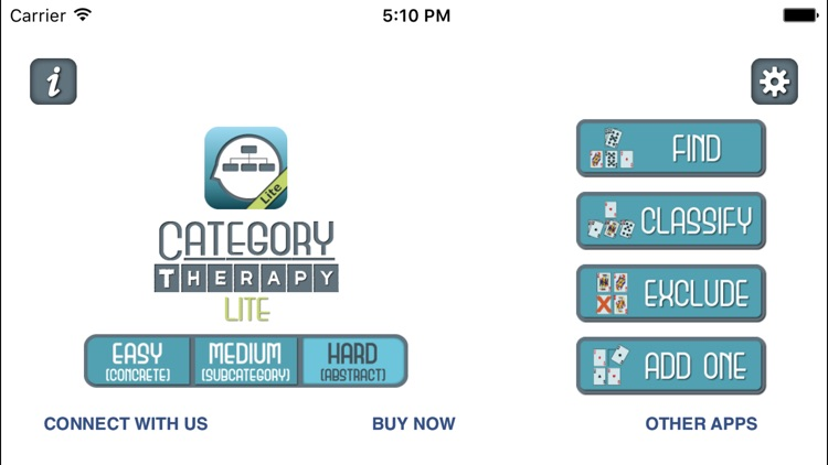 Category Therapy Lite - Aphasia Speech Rehab screenshot-0
