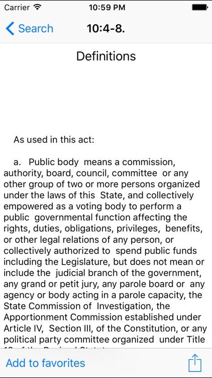 NJLaw - Title10 - Civil Rights screenshot-3
