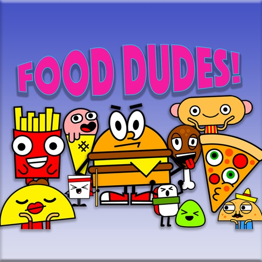 Food Dudes! Stickers!