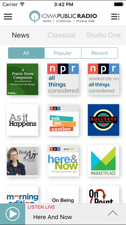 Iowa Public Radio App screenshot-3