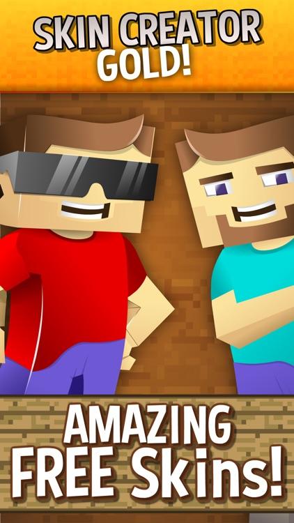 Skin Creator Gold For Minecraft Skins