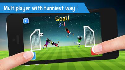 Stickman Soccer Physics - Fun 2 Player Games Free