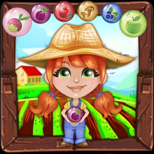 Bubble Shooter Farmer : Free Arcade Bubble shooter