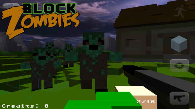Block Warfare: Zombies FREE, game for IOS