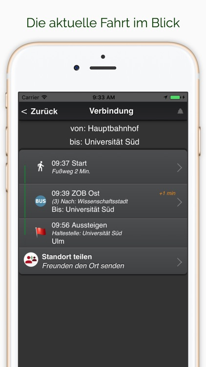 A+ Premium Fahrplan Ulm screenshot-3