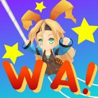 Unity-chan WA! iOS Icon