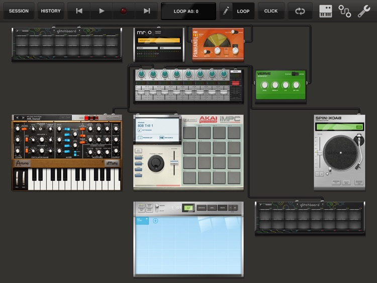 iMini Synthesizer screenshot-0