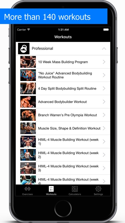 Gym Guide workouts and exercises for fitness screenshot-3