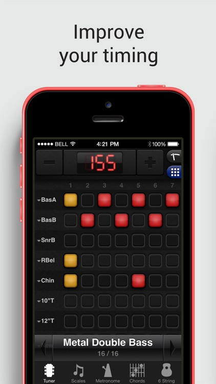 GuitarToolkit - tuner, metronome, chords & scales screenshot-3