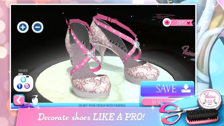 Fashion Shoe Maker Games - Modern Shoes Designer