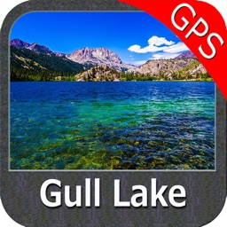 Lake Gull Michigan GPS fishing chart offline