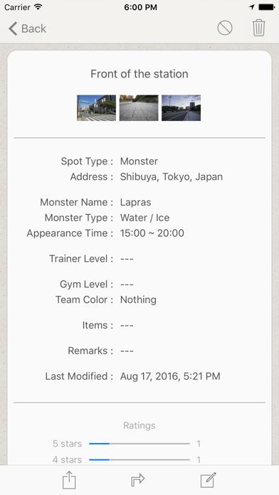 GO MAP! MAPA información comercial de Pokemon GOCaptura de pantalla de2
