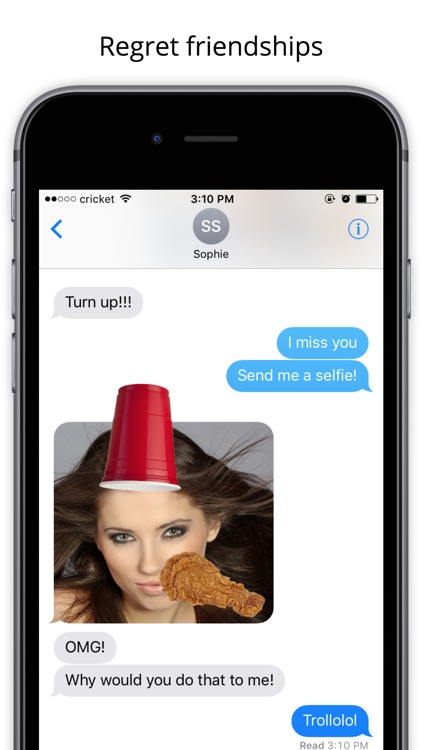 Troll - Annoy your friends and enhance selfies
