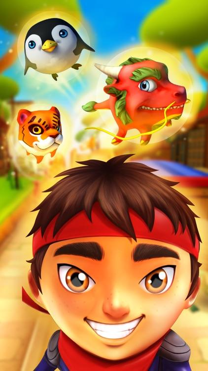 Ninja Kid Run VR: Runner & Racing Games For Free screenshot-3