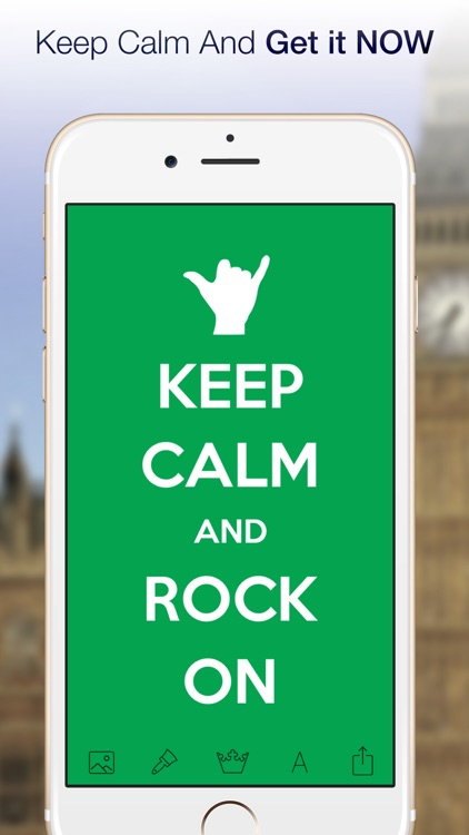 Keep Calm! Funny posters Creator Free screenshot-4