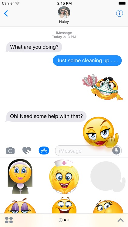 how to enable emojis on iphone emoji emoticon stickers for imessage by edb 18776