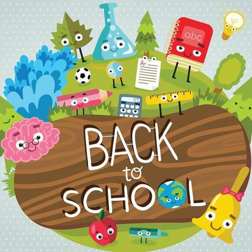 Cute School Message Stickers
