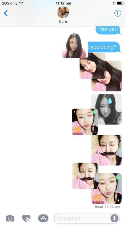 Sticker Booth : Animated GIF Stickers for iMessage screenshot-4