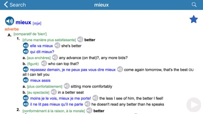 English / French dictionary Screenshot 3