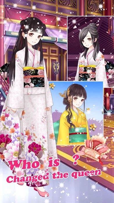 ビューティーサロン-楽しいお姫様の着せ替え無料ゲームスクリーンショット1